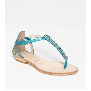 Rachel Roy 8 M Carina Leather Sandals
